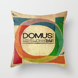 Domus Sessions Throw Pillow