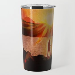 Peaceful Warrior  Travel Mug