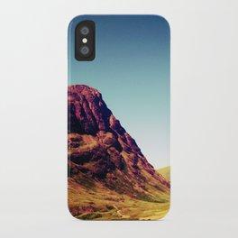Glencoe, Scotland. iPhone Case