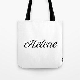 Name Helene Tote Bag
