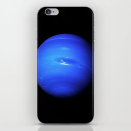 Neptune, Galaxy Background, Universe Large Print, Space Wall Art Decor, Deep Space Poster Decor iPhone Skin