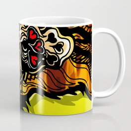 The Golden Phoenix Coffee Mug