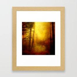 Deep in the Wood Framed Art Print