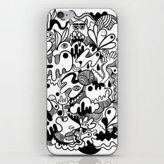 Weirdo doodle iPhone Skin