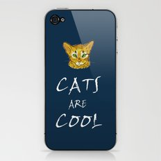 Cats are Cool iPhone & iPod Skin