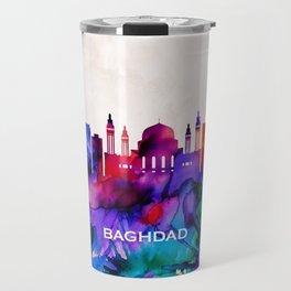 Baghdad Skyline Travel Mug