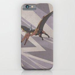 Pteranostorm - Superhero Dinosaurs Series iPhone Case