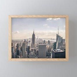 NYC Skyline Framed Mini Art Print