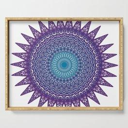 Colourful Mandala #1 Serving Tray