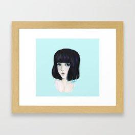 akiko Framed Art Print