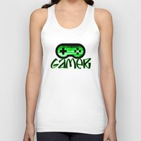 gamer Tank Tops featuring Gamer Green by UMe Images