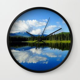 Mirror Image Wall Clock