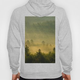 golden fog forest II Hoody