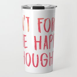 Chance the Rapper - Don't forget the happy thoughts Travel Mug