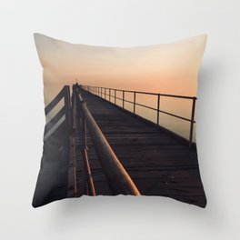 The Port Germein jetty is the longest in South Australia and, reputedly, the longest in the southern Throw Pillow