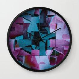 Pattern 2017 004 Wall Clock
