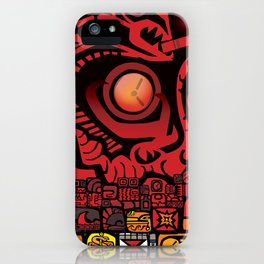 OVER UNDER iPhone Case
