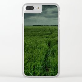 Storm Clouds Clear iPhone Case