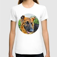 megan lara T-shirts featuring Dog Lara by itsme23