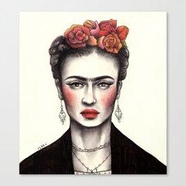 Bohemian Frida Canvas Print