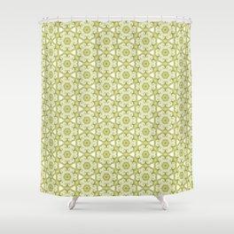Vintage Moss Shower Curtain