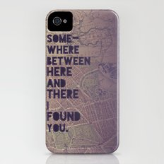 Here & There Slim Case iPhone (4, 4s)