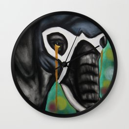 Elefante Don't Forget Wall Clock