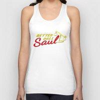 better call saul Tank Tops featuring Better Call Saul by RobHansen