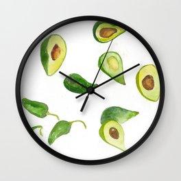Olé Guacomole Wall Clock
