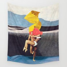 The Lovers vs the Elements - PAINTING Wall Tapestry