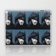 V for Bat Laptop & iPad Skin
