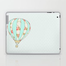 Let's fly away together - Hot air balloon Laptop & iPad Skin
