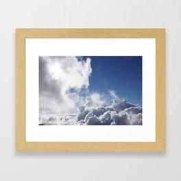 Cloud 9 Framed Art Print