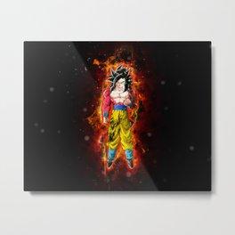 Goku SSJ4 Metal Print