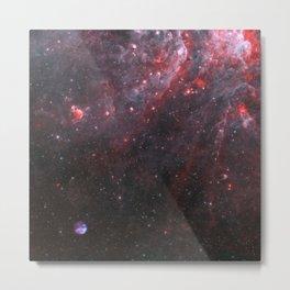 Supernova Destruction Metal Print