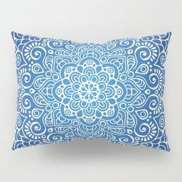 Mandala dark blue Pillow Sham