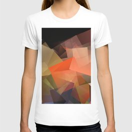 Cubism Abstract 195 T-shirt