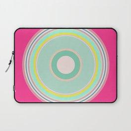 pink magenta circle Laptop Sleeve
