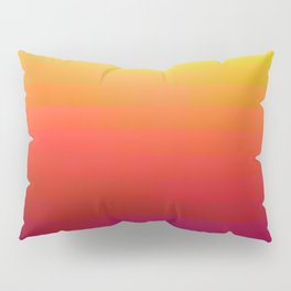 Rainbow Design Artwork Pillow Sham