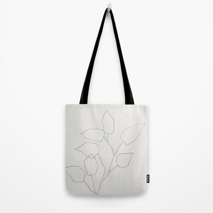 Floral Study no. 5 Tote Bag