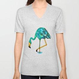 Flamingo | Endangered Birds Collection Unisex V-Neck