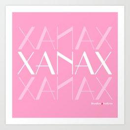XANAX Art Print