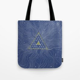 Strands of Light Tote Bag