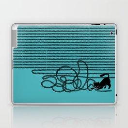 Unravel (in Blue) Laptop & iPad Skin