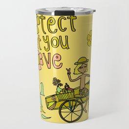 protect what you love Travel Mug