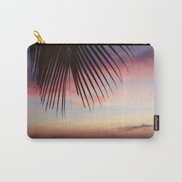 Paradise Palm Sunset Carry-All Pouch