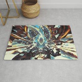 Fractal Art - Cocoon in Space Rug