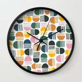 Aesthetic Arches Wall Clock