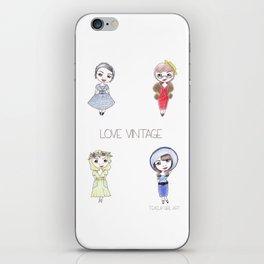 Love Vintage iPhone Skin