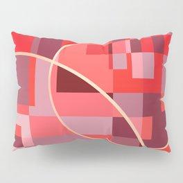 Abstract overlapping art Pillow Sham